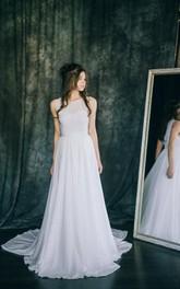 Sleeve Lace Wedding Sleeveless Short Satin Chiffon Dress