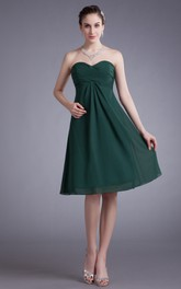 Flowy-Fabric Draping Ruched Soft Elegant Gown
