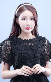 New Black Lace Shawl