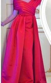 Elegant Off the Shoulder Long Prom Dress 2018 Floor Length Party Gowns