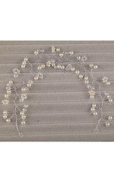 Weatern Style Handmade Pearl Hairband