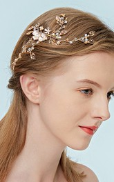Western Style Stylish Headbands with Flowers