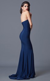 Long Zipper Back Sleeveless Ambitious Gown