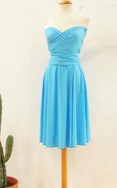 On Blue Malibu Evening Romantic For Event Short Infinity Light Blue Short Bridesmaid Pool Blue Dress