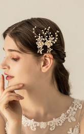 Handmade Classical Beaded Hair Pins