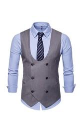Plain Cotton Men's Vest-4 Color Options