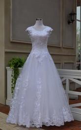 Sweetheart Keyhole Back White Vintage Dress