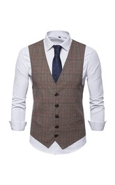 Cotton Classic Groom's Vest-3 Color Options