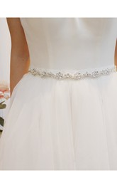 Simple Elegant Beaded Belt