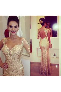 Evening Sweetheart Appliqued Floor Length Formal Sequined Gorgeous Gown