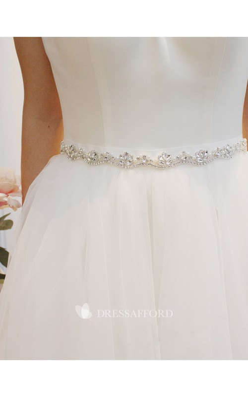 Simple Elegant Beaded Belt
