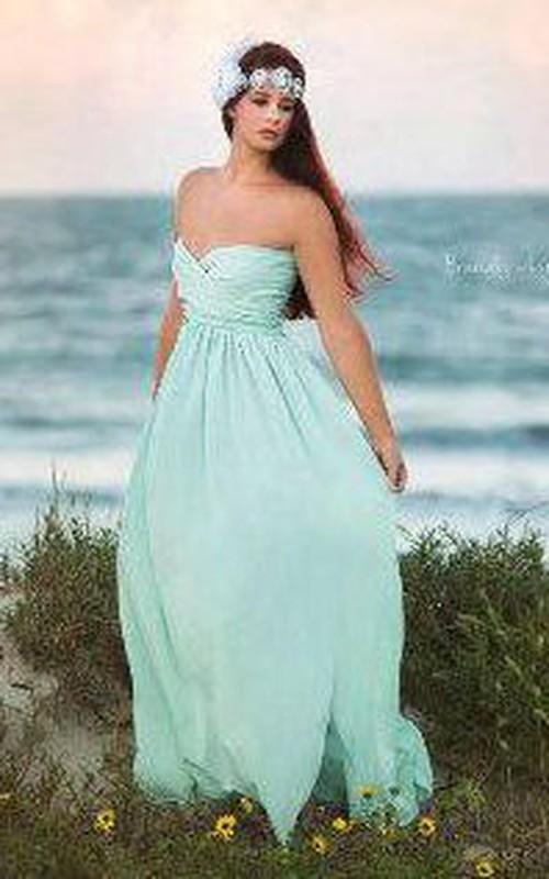 Boho Chic Bridesmaid Mint Dress