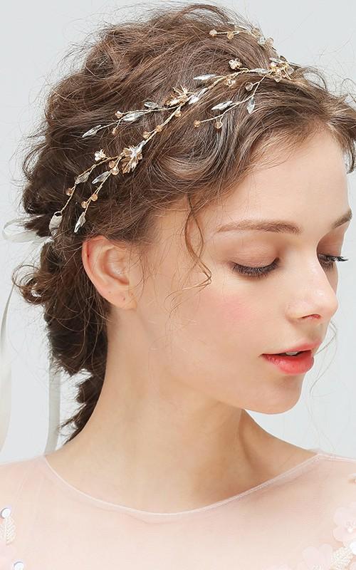 Korean Style Gorgeous Crystal Headbands