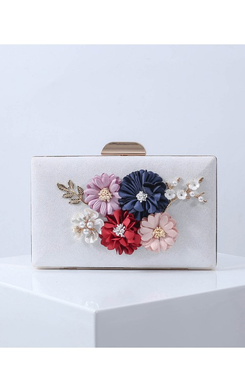 Charming Floral Clutch