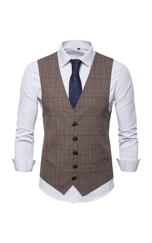 Cotton Classic Groom's Vest-3 Color Options